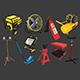 Autoservice Props Pack Vol 2 - 3DOcean Item for Sale