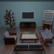 Living Room Package - 3DOcean Item for Sale