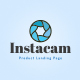 Instacam - Single Product Landing HTML Template - ThemeForest Item for Sale