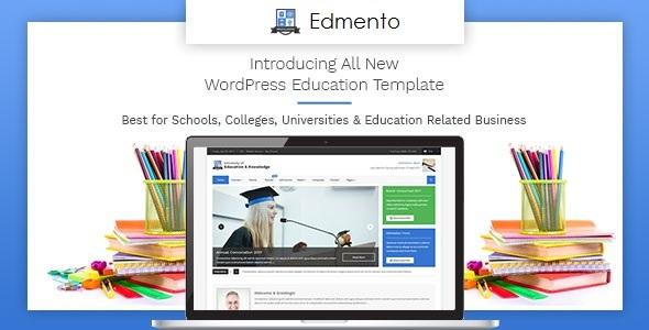 Edmento - Education WordPress Theme