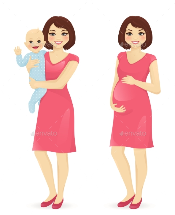 Young Mother Set
