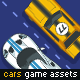 Game Assets for 2 Cars Racing - GraphicRiver Item for Sale