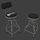 Garage Bar Stool - 3DOcean Item for Sale