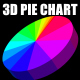 3D Pie Chart - no plugins needed! - VideoHive Item for Sale