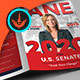 Jane Political Brochure Template 1 - GraphicRiver Item for Sale