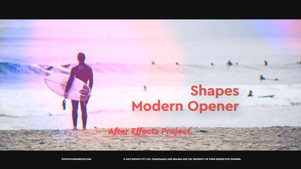 Shapes Modern Opener