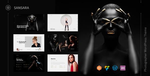 Photography Sansara - Photography WordPress for Photography