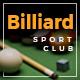 Billiard - Creative Sporting  WordPress Theme - ThemeForest Item for Sale