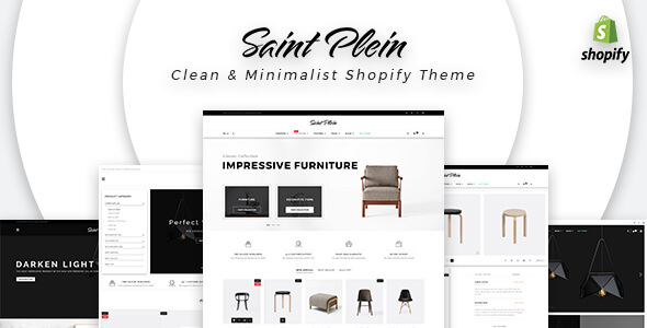 Saint Plein - Mutilpurpose eCommerce Shopify Theme