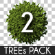 Top View Trees Pack 2 - GraphicRiver Item for Sale