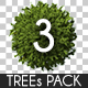 Top View Trees Pack 3 - GraphicRiver Item for Sale