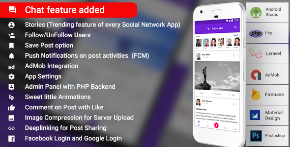 Make A Video Chat App With Mobile App Templates from CodeCanyon