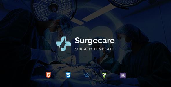 Surgecare - Surgery HTML Template