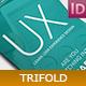 UX Design School Trifold - GraphicRiver Item for Sale
