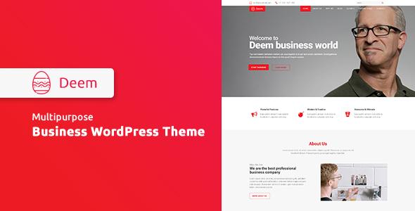 Deem - Multipurpose Business WordPress Theme