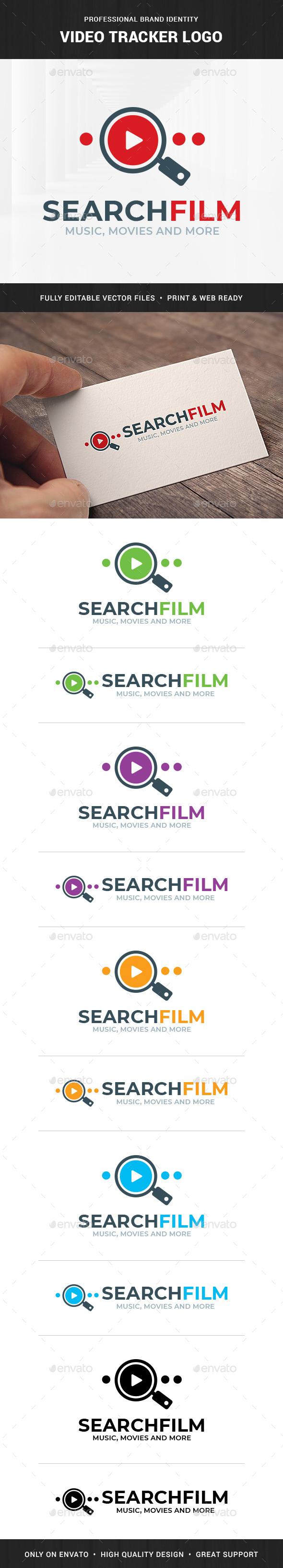 Video Tracker Logo Template