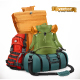 Tourist Backpack and Bag - GraphicRiver Item for Sale