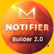 Notifier | Responsive Email Template Set + Builder Online - ThemeForest Item for Sale