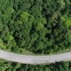 Aerial : Highway in the Form of a Smile - VideoHive Item for Sale