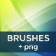 Abstract Light Waves Photoshop Brush - GraphicRiver Item for Sale