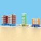 Cartoon Buildings - 3DOcean Item for Sale