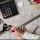 Woman Working on a Sewing Pattern - VideoHive Item for Sale