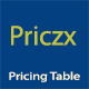 Priczx - Modern Bootstrap 4 Pricing Table - CodeCanyon Item for Sale