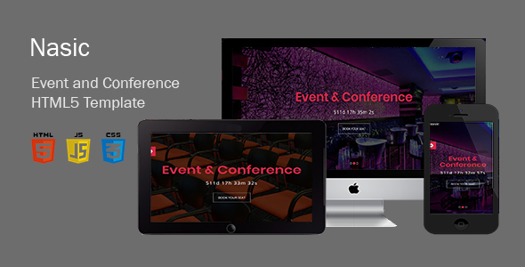 Nasic-Event & Conference Html5 Template