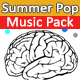 Summer Pop Music Pack - AudioJungle Item for Sale