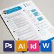 Resume/CV - Diamond - GraphicRiver Item for Sale