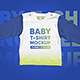 Baby T-Shirt Long Sleeve Mockups - GraphicRiver Item for Sale