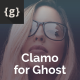 Clamo - Personal Ghost Theme