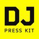 DJ Press Kit / DJ Resume / DJ Rider PSD Template - GraphicRiver Item for Sale