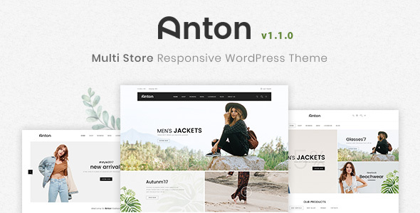 Anton - Multi Store Responsive WordPress Theme