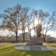 The Monument To Holy Apostle Andrew the First-Called in the on the City Park Strelka  in Kharko - VideoHive Item for Sale