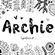 Archie typeface - GraphicRiver Item for Sale
