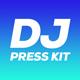 Wave - DJ Press Kit / DJ Resume / DJ Rider PSD Template - GraphicRiver Item for Sale