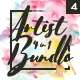 Artist 4 in 1 Bundle vol.4 - GraphicRiver Item for Sale