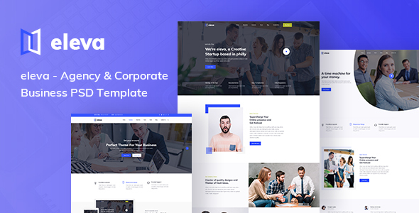 Agency & Corporate Business PSD Template