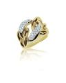 gold Diamond Wedding band Chain engagement ring - PhotoDune Item for Sale