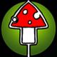 Rising Ambient Glitch Logo