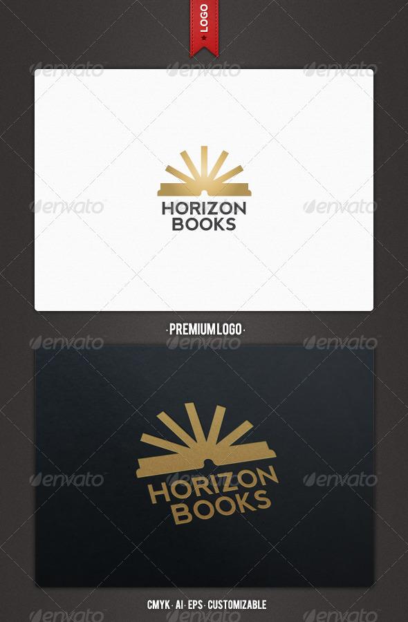 Horizon Books Logo Template