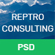 REPTRO – Business Consulting PSD Template - ThemeForest Item for Sale