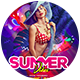 Summer Vibe Flyer Template - GraphicRiver Item for Sale