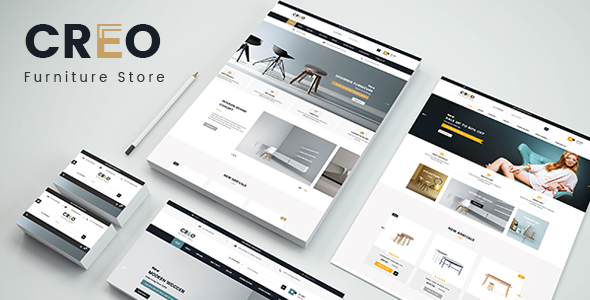 Creo - Designer Interior Furniture Responsive PrestaShop 1.7 Theme