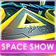 Space Show Logo Intro - VideoHive Item for Sale