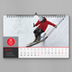 Wall Calendar 2019 - GraphicRiver Item for Sale