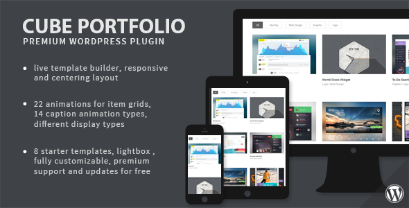 Photo of Cube Portfolio – Responsive WordPress Grid Plugin Full Download