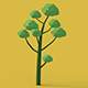 Set of 5 trees with light ready! - 3DOcean Item for Sale