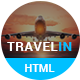 Travel In – Tour, Hotel & Air Tickets Landing HTML Template - ThemeForest Item for Sale